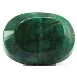 Natural African Emerald Loose 118.45ctw Oval Cut