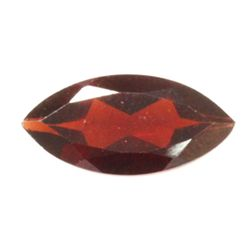 Natural 2.2ctw Garnet Checker Board Marque 6x12 Stone