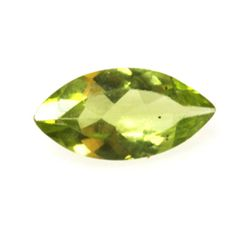 Natural 6.09ctw Peridot Marque 5x10 (6) Stone