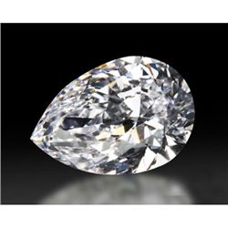 Diamond GIA Cert. Pear 0.90 ctw E, VVS2