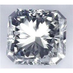 Diamond EGL Cert. Princess 0.75 ct H, VS2