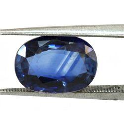 Natural Oval Cut Kyanite Loose Stone 1 pc per lot