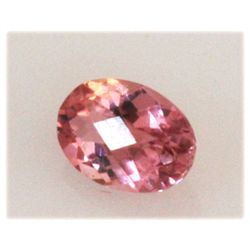 Natural 3.38ctw Pink Tourmaline Oval Cut (5) Stone