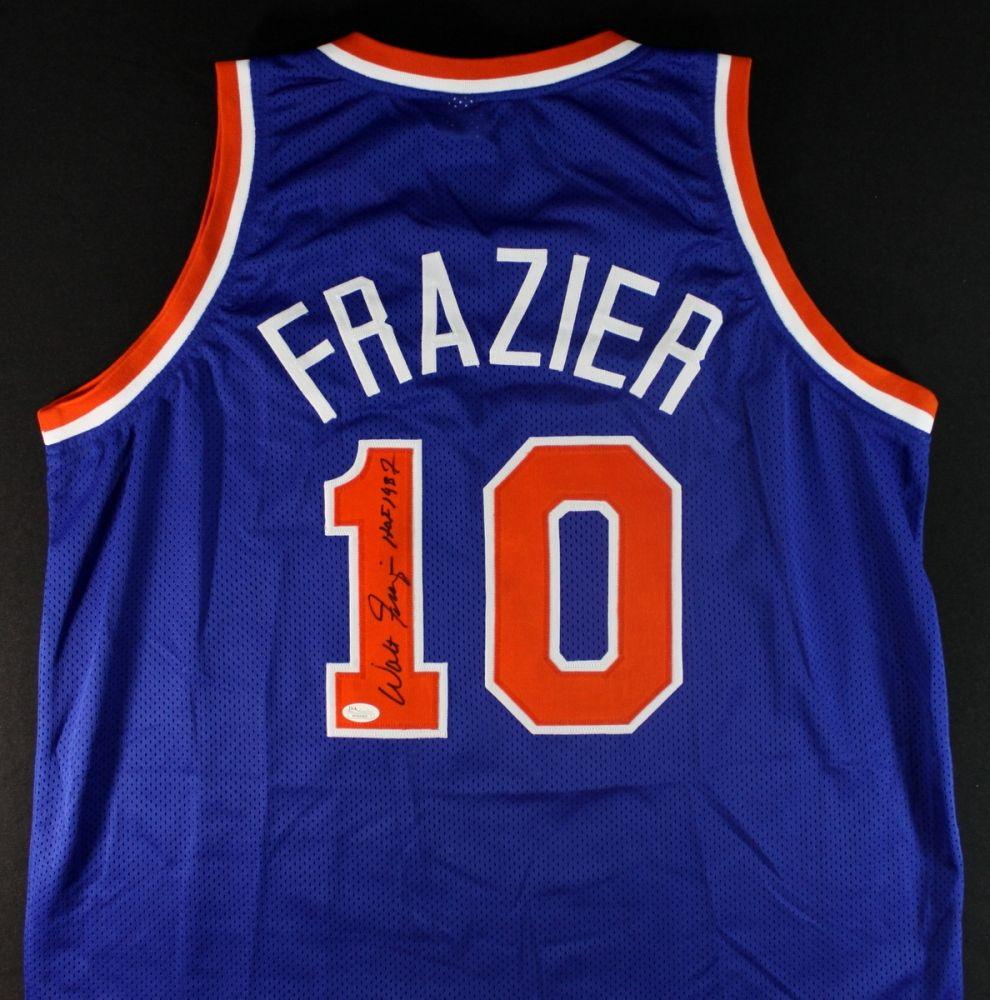 Walt Frazier Signed Knicks Jersey: Inscribed