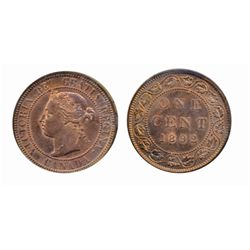 1892. Obverse port. #4. ICCS Mint State-63. Red-Brown. 40% luster. Interesting reflective fields.