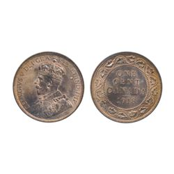 1906. 1918. Both ICCS Mint State-63. Red. Both with 80% red luster. Lot of two (2) coins.
