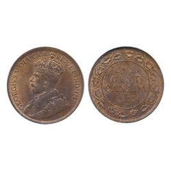 1915, 1916. Both PCGS graded Mint State-64. Red-Brown. Both with 40% red luster.