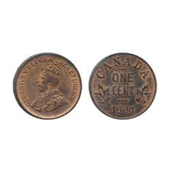 1931. ICCS Mint State-63. Red-Brown. 50% luster; 1933. ICCS Mint State-63. Red. 80% luster; 1934. IC