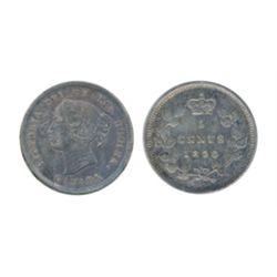 1898, 1899. ICCS Extra Fine-40. Lot of two (2) coins. Both with medium heavy toning.