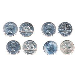 1938, Pt. 3. ICCS AU-55; 1939. ICCS AU-50; 1951, Commem. ICCS Mint State-63, Cameo; 1964. Extra Wate
