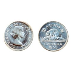 1963. ICCS Mint State-65.