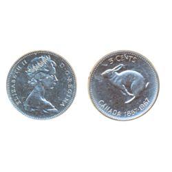 1967. ICCS Mint State-65.