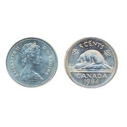 1984. ICCS Mint State-65.