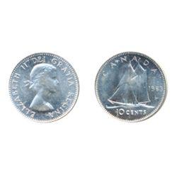 1963. ICCS Mint State-66. Blast white.