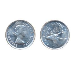 1954. ICCS Mint State-64. Brilliant.