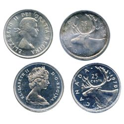 1956. ICCS Mint State-65. Fully brilliant. 1970. ICCS PL-66. Heavy Cameo. Brilliant reflective field