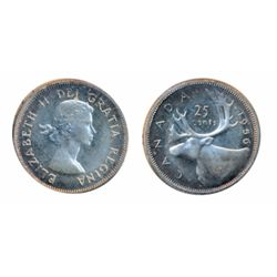 1956. ICCS Proof-Like-66. Heavy Cameo. Touches of light blue toning. A Gem.
