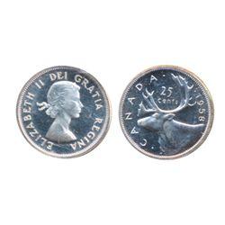 1956. ICCS PL-65. Cameo; 1957. ICCS PL-65; 1958. ICCS PL-65. Heavy Cameo. Lot of three (3) coins.
