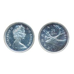 1958. 1965. Both ICCS Proof-Like-66 Cameo. Lot of two (2) coins.