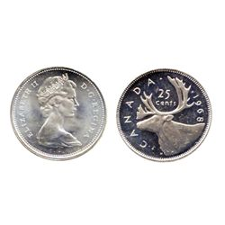 1968. Silver. ICCS Mint State-66. Fully brilliant.