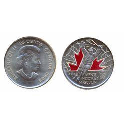 1999, September. ICCS MS-63. 'Overstrike'. 2005. Silver. Liberation; 2005-P. Sask.; 2005-P, Alberta.
