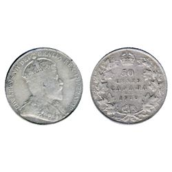 1870. L.C.W. ICCS Very Good-8; 1909. CCCS graded Good-6; 1910. Vict. Lvs. ICCS Fine-12; 1910. Ed. Lv