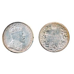 1904. ICCS Mint State-63. Brilliant and lustrous, with a hint of golden toning. A rare select mint s