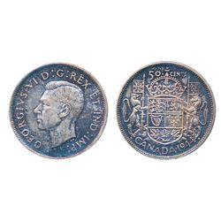 1940. ICCS Mint State-63. Lustrous, light multi-hued toning; 1944. Near 4. ICCS Mint State-64. Mediu