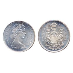 1944. Near 4. ICCS Mint State-63; 1955. ICCS Mint State-64; 1962. 1966. Both ICCS Mint State-65. Ful