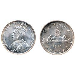 1936. ICCS Mint State-65. Lightly toned. A lustrous gem.