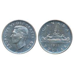 1949. ICCS Mint State-65. Brilliant; 1951, Arnprior. ICCS AU-55. Heavy toning; 1952, W.L. ICCS Mint