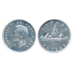1951. Arnprior. ICCS Mint State-62. Brilliant.