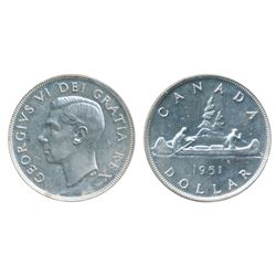 1951. Arnprior. ICCS Mint State-60. Brilliant.