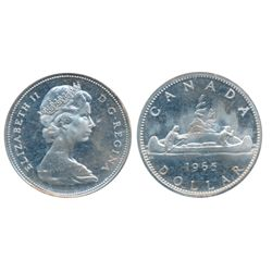1965. Type 4. Large Beads. Pointed 5. ICCS Proof-Like-66. Cameo. Excellent fields. Superb reflective