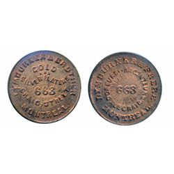 Breton-579. Lymburner & Frere. Thin Flan. Copper. ICCS Mint State-63.