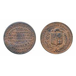 Breton-584. LeRoux. Crest. English. ICCS Mint State-60.