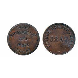 Breton-917. PE-5B1. Hook reverse. (1860). ICCS Very Fine-30. Breton-919. PE-7C1. 1857. P.E.I. ICCS V