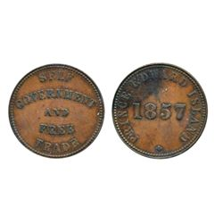 Breton-918. PE-7A1. 1855. P.E.I. ICCS Extra Fine-40; Breton-919. PE-7C3. 1857. P.E.I. ICCS Extra Fin