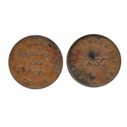 Breton-921. PE-8A1. Fisheries and Agriculture. Half Penny. ICCS Extra Fine-40; Breton-919. PE-7C4. 1