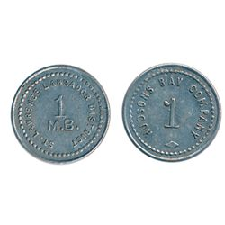 Hudson's Bay Company. St. Lawrence Labrador District. (1922). 1, 5, 10, 20 M.B. tokens. Gingras-260