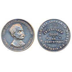Breton-939. Hon. J. Robson. ICCS Mint State-60.