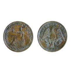 Breton-994. LC-54D2. Half Penny Token. 1815. Clockwise wreath. ICCS Mint State-60.