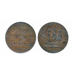 Breton-997. PE10-2. Lees-2. Ships, Colonies & Commerce. ICCS Extra Fine-40.