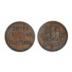 Breton-997. PE10-26. Lees-26. Ships, Colonies & Commerce. ICCS Extra Fine-45.
