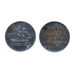 Breton-997. PE10-27. Lees-27. Ships, Colonies & Commerce. ICCS Extra Fine-40.
