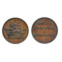 Breton-997. PE10-28. Lees-28. Ships, Colonies & Commerce. ICCS Extra Fine-45. Breton-997. PE10-30. L