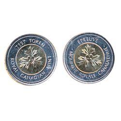 TEST TOKEN. $2.00. CH#TT-200-17. ICCS Mint State-65.