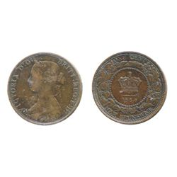ONE CENT. 1864. Short 6 variety. An Error Coin, with a die break resulting in 'E.D.', not 'F.D.' in