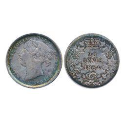 TWENTY CENTS. 1864. ICCS Extra Fine-45.