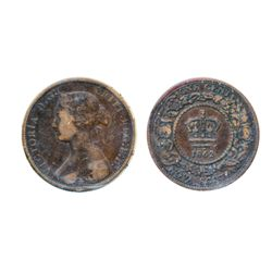ONE CENT. 1862. ICCS Fine-12.